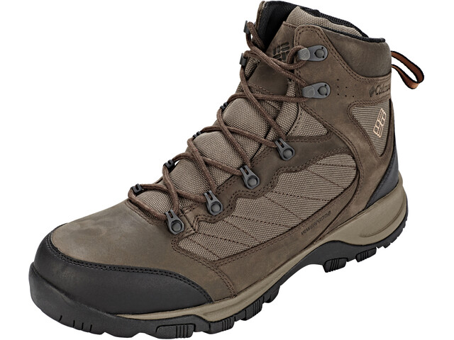 Columbia Cascade Pass Waterproof Shoes Men Major/Bright Copper
